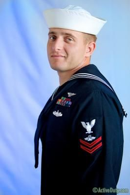 Navy Man Nash's Uniformed Solo | Daily Dudes @ Dude Dump