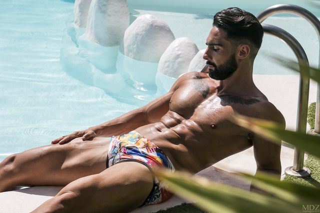 Niko Vazquez For Bang swimwear | Daily Dudes @ Dude Dump