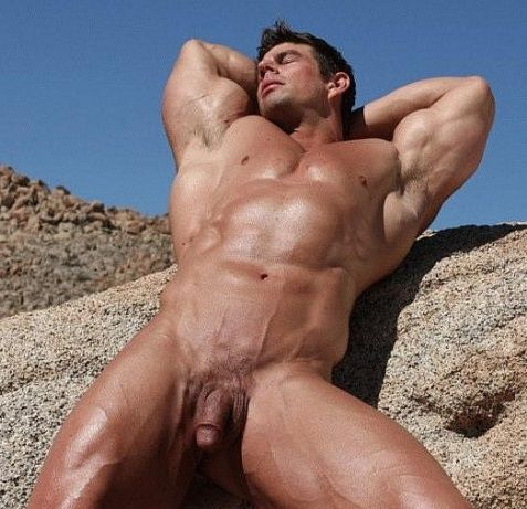 Ocotillo Heat | The Naked Zeb Atlas | Daily Dudes @ Dude Dump
