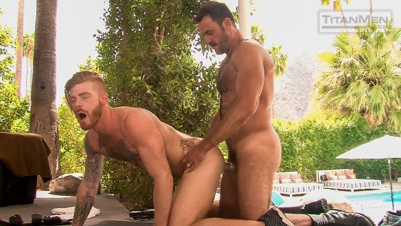 Officer Anthony London Drills Bennett Anthony | Daily Dudes @ Dude Dump