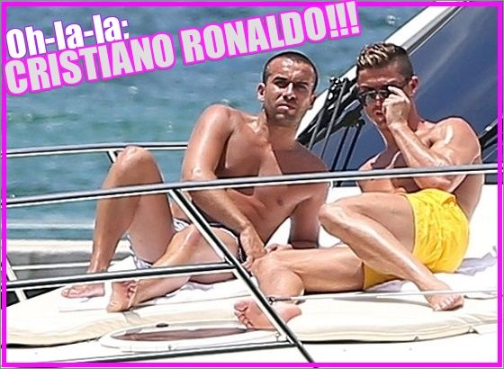Oh-la-la: Cristiano Ronaldo caught! | Daily Dudes @ Dude Dump