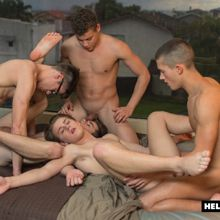 One of the hottest bareback twink orgy videos ever | Daily Dudes @ Dude Dump