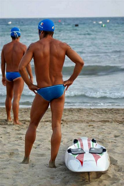 Only speedo on the beach | Daily Dudes @ Dude Dump