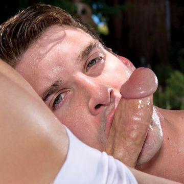 Oral fixation — Dustin loves dick | Daily Dudes @ Dude Dump