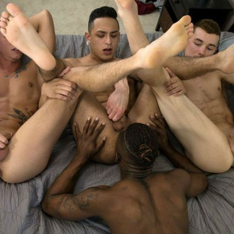 orgy with Hoss Kado, Vincent O'Reilly at Guys in | Daily Dudes @ Dude Dump