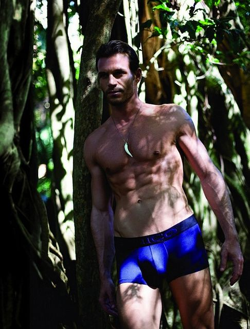 Outdoor Muscle With Unico Underwear | Daily Dudes @ Dude Dump