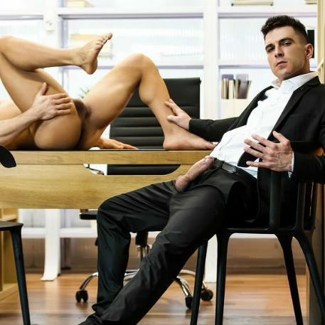 """Paddy O'Brian and Pietro Duarte in """"The Boss"""" 