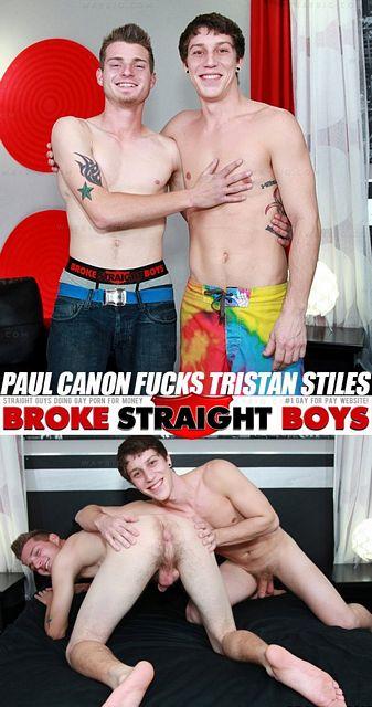 Paul Canon and Tristan Stiles Bareback | Daily Dudes @ Dude Dump