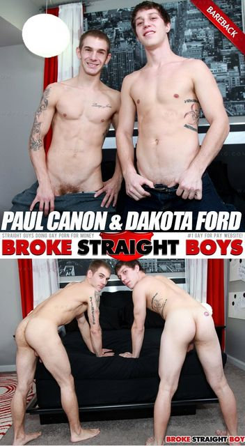 Paul Canon & Dakota Ford (Bareback Flip-Flop) | Ho | Daily Dudes @ Dude Dump