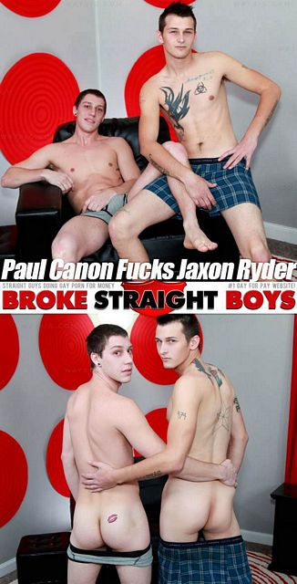 Paul Canon Fucks Jaxon Ryder | Daily Dudes @ Dude Dump