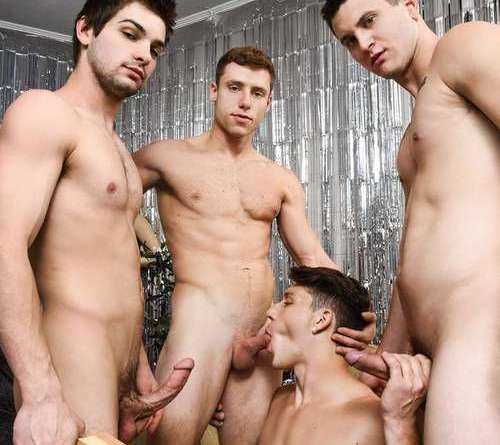 Paul Canon In Naked Frat House | Daily Dudes @ Dude Dump