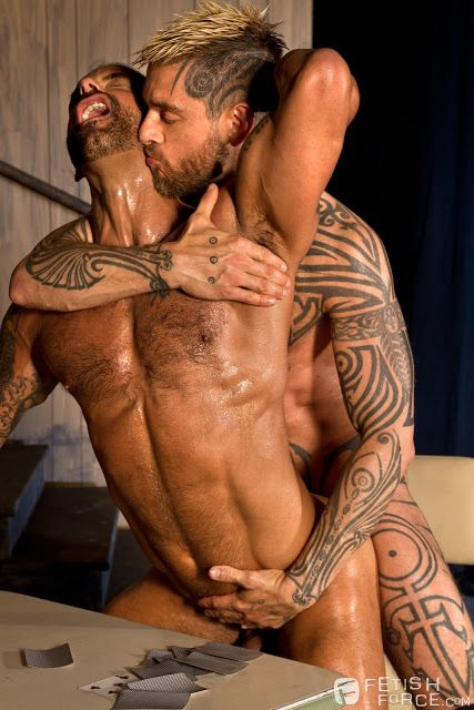 Permission Logan McCree and David Benjamin | Daily Dudes @ Dude Dump