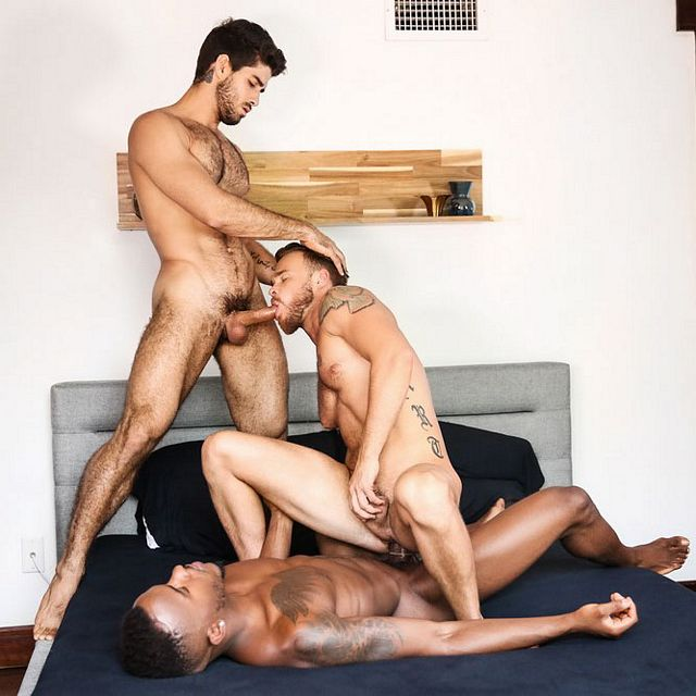 Pheonix  and Diego fuck Max Wilde | Daily Dudes @ Dude Dump