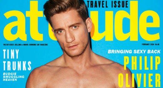 Philip Olivier for Attitude | Daily Dudes @ Dude Dump