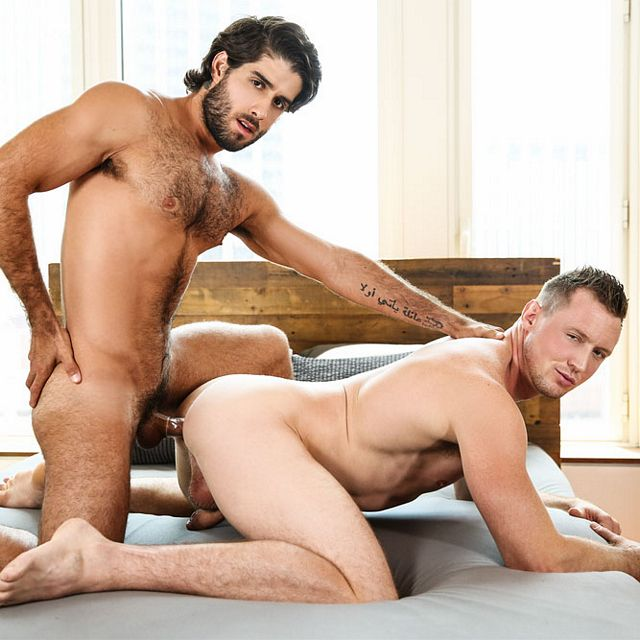 Pierce gets fucked by Diego | Daily Dudes @ Dude Dump