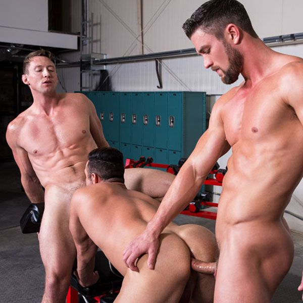 Pierce, Ryan and Josh fuck | Daily Dudes @ Dude Dump