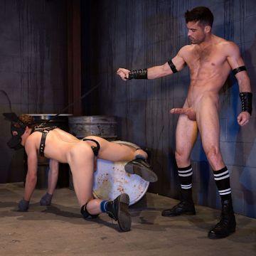 Pig Puppy BDSM | Daily Dudes @ Dude Dump