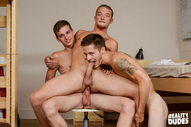 Play Time With Four Horny Young College Frat Boys | Daily Dudes @ Dude Dump