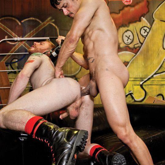 Rafael Alencar Fists Sebastian Keys' Rosebud | Daily Dudes @ Dude Dump