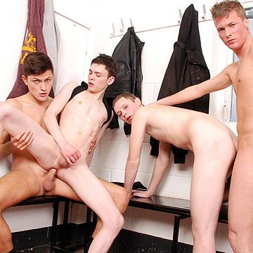 Raw Twink Gang Bang | Daily Dudes @ Dude Dump