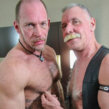 Real Hairy Daddies Randy Harden And Scott Reynolds | Daily Dudes @ Dude Dump