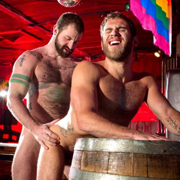 Real Hairy Gay Hardcore At Raging Sallion   Daily Dudes @ Dude Dump