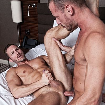 Real Lovers Bareback Flip-Fuck with Breeding | Daily Dudes @ Dude Dump