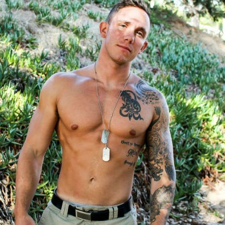 Recruit Cole Weston is a sexy soldier | Daily Dudes @ Dude Dump