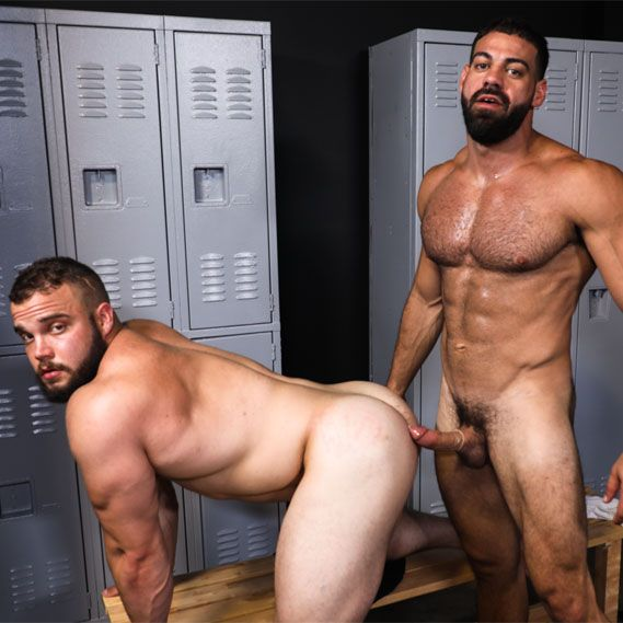 Ricky Larkin fucks Dax Carter | Daily Dudes @ Dude Dump