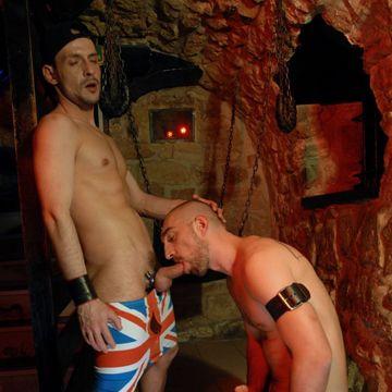 Robin Hole gets gloryhole cock from David Castan   Daily Dudes @ Dude Dump
