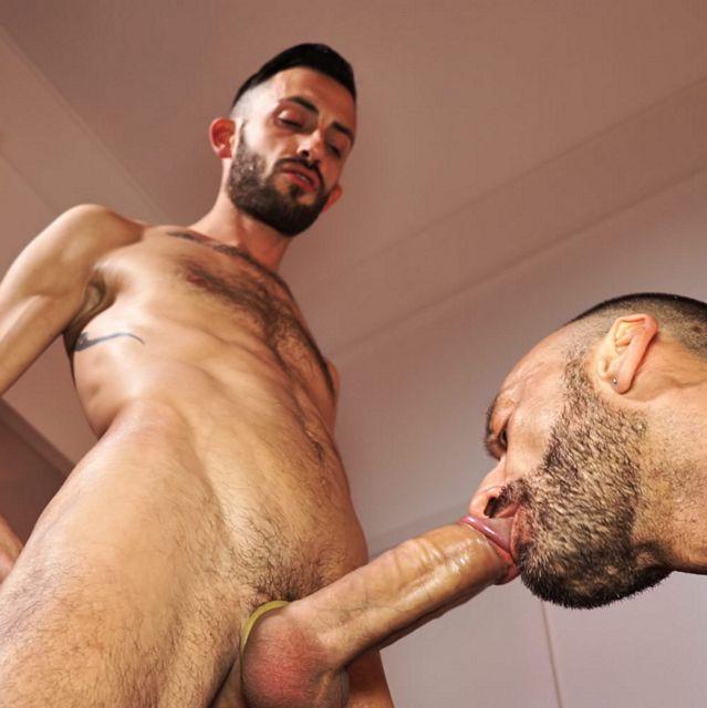 Rodolfo barebacks Riccardo di Salvo | Daily Dudes @ Dude Dump