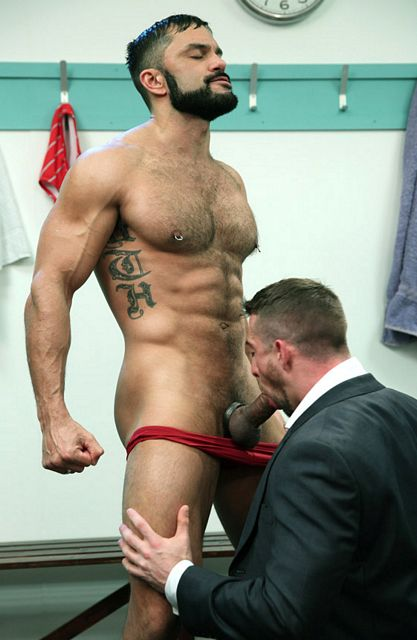 Rogan Richards fucks Scott Hunter | Daily Dudes @ Dude Dump