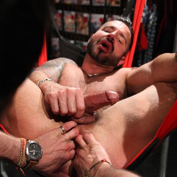 Rough And Hot Gay Anal For Martin Mazza | Daily Dudes @ Dude Dump