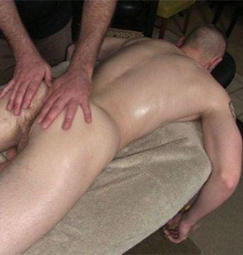 Rough Straight Sailor Ethan Gets His First Massage | Daily Dudes @ Dude Dump