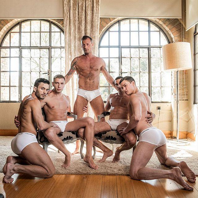 Ruslan Angelo's bareback orgy | Daily Dudes @ Dude Dump