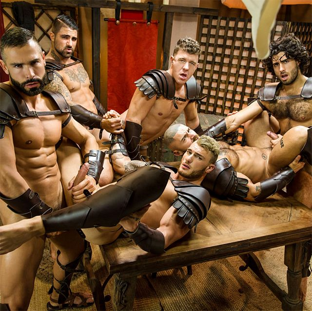 Sacred Band of Thebes orgy | Daily Dudes @ Dude Dump