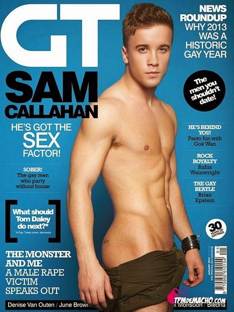 Sam Callahan for GAY TIMES | Daily Dudes @ Dude Dump