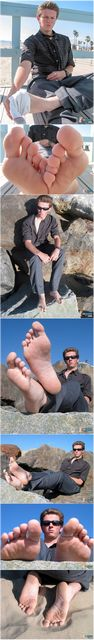 Sandy Bare Male Feet | Daily Dudes @ Dude Dump