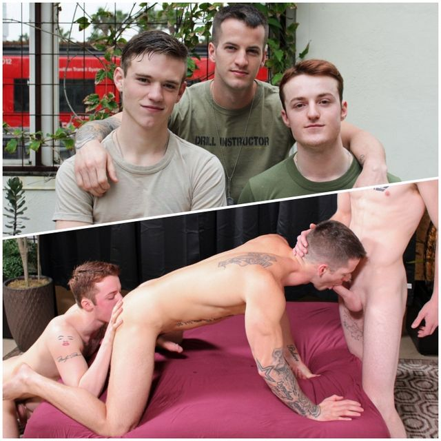 Scott, Dominic & Quentin Bareback | Daily Dudes @ Dude Dump