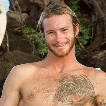 Scruffy Blond Surfer   Daily Dudes @ Dude Dump