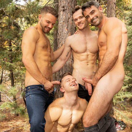 Sean, Daniel, Jackson and Deacon are ready | Daily Dudes @ Dude Dump
