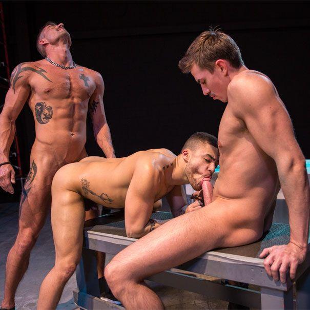 Sean, Jack and Beaux fuck | Daily Dudes @ Dude Dump