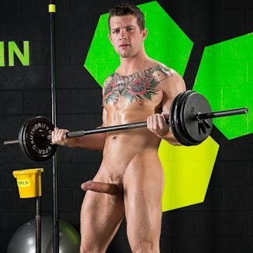 Sebastian Kross keeping fit | Daily Dudes @ Dude Dump