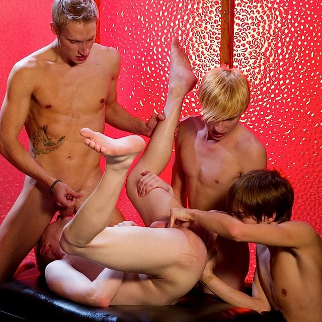 Seven Twinks Orgy | Daily Dudes @ Dude Dump