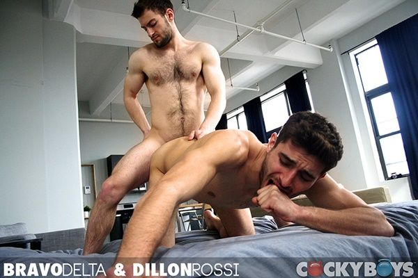 Sexy Bravo Delta plows Dillon Rossi's hot ass | Daily Dudes @ Dude Dump