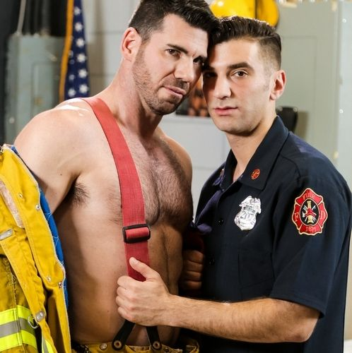 Sexy Firefighters Fuck Hard | Daily Dudes @ Dude Dump
