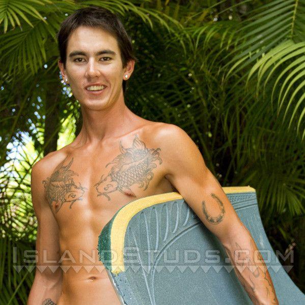 Sexy Hawaiian Surfer Cums Twice   Daily Dudes @ Dude Dump
