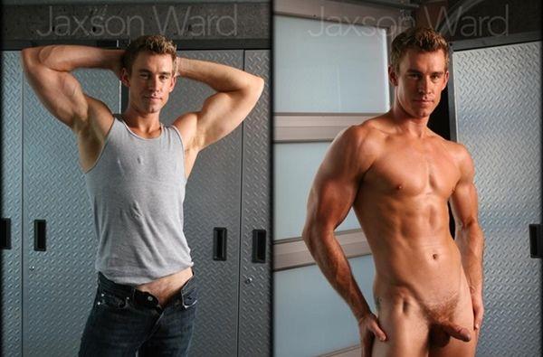 Sexy Jaxson Ward's Big Cumshot   Daily Dudes @ Dude Dump
