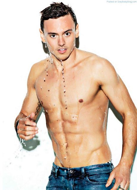 Sexy Tom Daley | Gay Body Blog | Daily Dudes @ Dude Dump