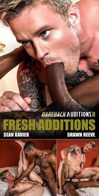 Shawn Reeve rides Sean Xavier's enormous cock | Daily Dudes @ Dude Dump